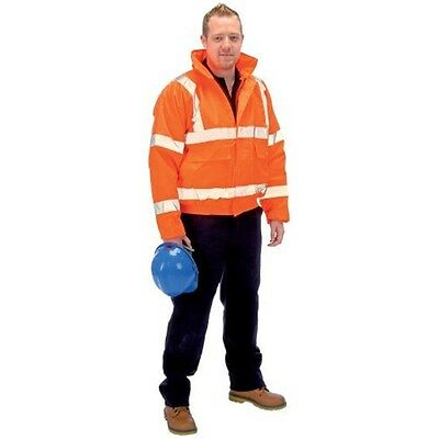 Hi-vis Bomb.jacket-orange XL - Draper Expert High Visibility Bomber Jacket Size