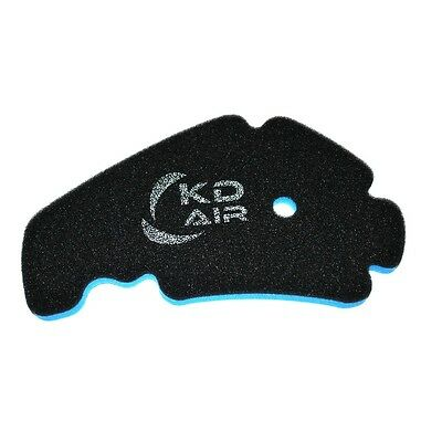 KD AIR Sport Luftfilter passend für Piaggio X10 125 ie / ie Executive ABS/AS