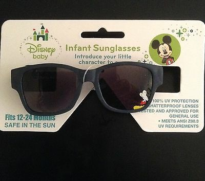 Disney Baby Mickey Mouse Clubhouse Boys Infant Sunglasses 12-24 Months