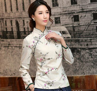 Women Outerwear Jackets Chinese Traditional Jacket Fashion Coat S M L XL XXL