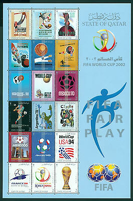 Qatar Scott #959 MNH World Cup 2002 Korea/Japan Soccer Football CV$52+
