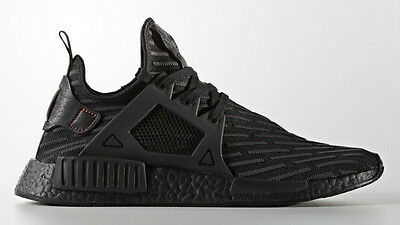 online store 44daf 52395 NEW DS ADIDAS NMD XR1 PK BOOST Triple All Black BA7214 Primeknit Black Core  Grey