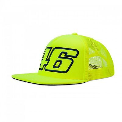 VR46 Official Valentino Rossi  Adjustable Truck Flat Peak Cap - VRMCA 263328