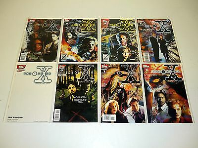 X-FILES #0 1 2 3 4 5 6 7 8 9 10-20 Topps Comic Books Lot Run of 22 Issues NM-NM+