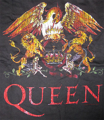 Queen _RARE_ Coat Of Arms Original 2005 Tour Shirt rock pop vtg concert t-shirt