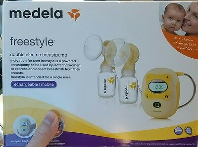 BRAND NEW Medela Freestyle Deluxe Double Electric Breastpump