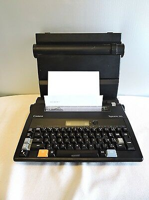 Canon Typestar 110 Electric Typewriter Word Processor