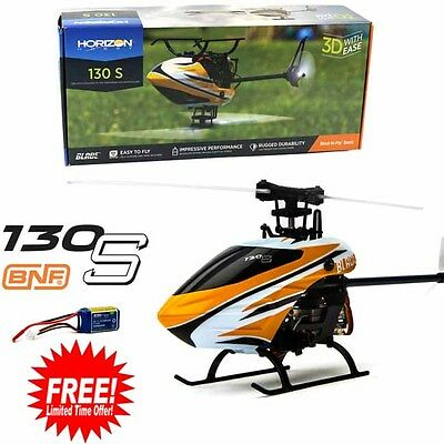 Blade BLH9350 130 S BNF Basic Helicopter w/ Free E-flite 300mAh 3s Lipo Battery