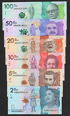 Colombia New Set***2000/100000 Pesos***nd 2015/2016***au**look Super Scan