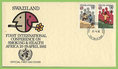 Swaziland 1982 Health Conference set on First Day Cover