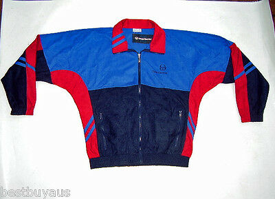 New!! Retro Mens Sergio Tacchini Tracksuit (Jacket & Pants) Size Eur 52 (Large)