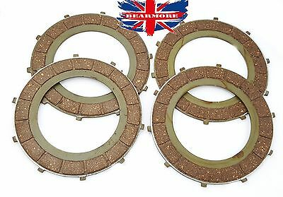 Royal Enfield 4 Clutch Friction Plate Kit Part No #597383