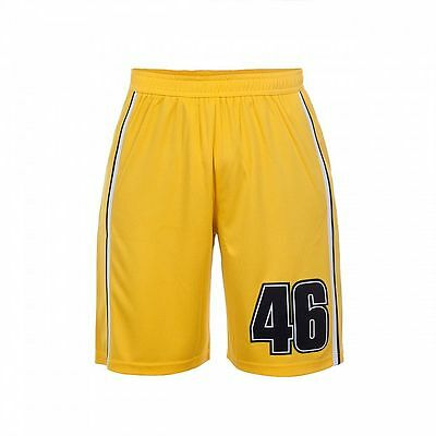 VR46 Official Valentino Rossi Yellow Bermuda Shorts  -  VRMSP 262101