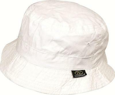 Highlander White Light Weight Breathable Premimum Sun Hat Travel Sun Protection