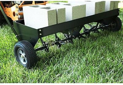 Tractor Tow Behind Plug Grass Lawn Aerator Aerators