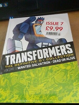 Transformers--The Definitive Collection--Issue 7--Volumes 6 and 8-New and Sealed
