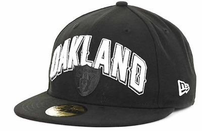 Oakland Raiders NFL Draft New Era 59Fifty Youth Fitted Cap Hat $25 Size 6 3/4