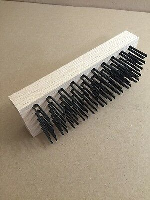 "Commercial  7-3/4""  Coarse Bristle Broiler Grill Brush Replacement"