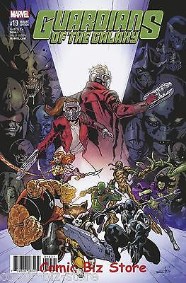 Guardians Of The Galaxy #19 (2017) 1St Printing Schiti Final Issue Variant Cover