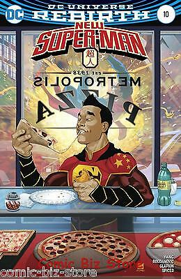 New Super Man #10 (2017) 1St Printing Variant Cover Dc Universe Rebirth