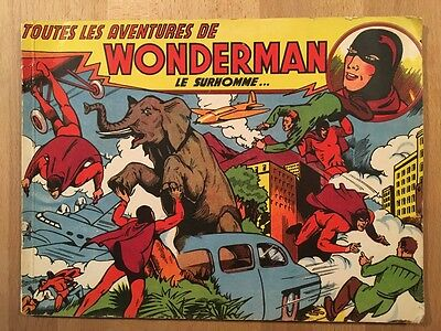 WONDERMAN Le Surhomme - Artima - 1949 - BE