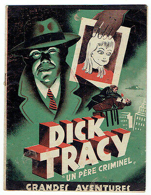 DICK TRACY – Récit complet – 1946 – BE