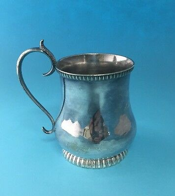 Silver Plated Baby Cup. 19th Century.
