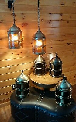 Antique/VTG Medieval Gothic-Castle Hanging Lights/Lamp,  Nautical Ceiling Light