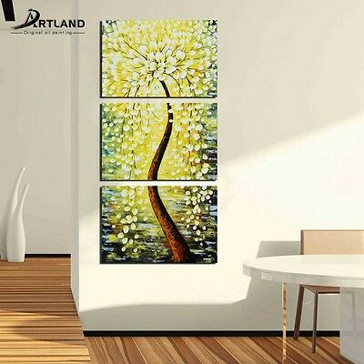 Oil Painting on Canvas Hand Painted Framed Wall Art 'Young And Beautiful Tree '