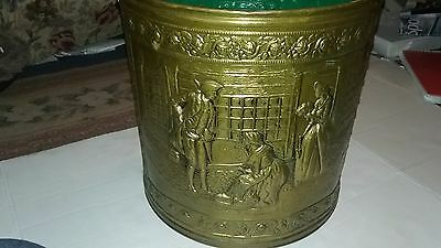 Vintage Large Brass Coal Bucket (☆MAKE OFFER ☆)