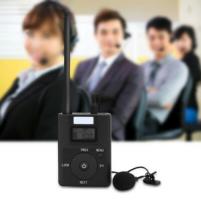 Portable 3.5MM Low-power Wireless FM Transmitter Stereo Radio Broadcast