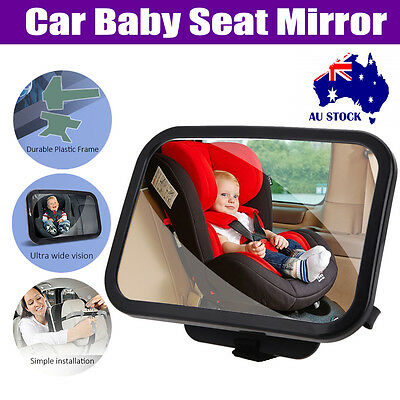 Universal Large Car Auto Rear Back Seat View Mirror Baby Kid Safety Facing Mount