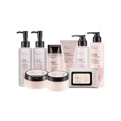 [TheFaceShop]  Rice Water Bright Cleansing Line