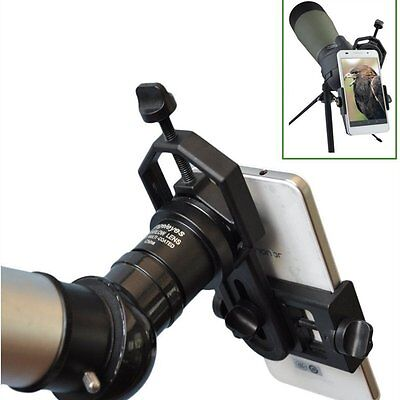 Universal Cell Phone Adapter Mount Telescope and Microscope Iphone Sony Samsung
