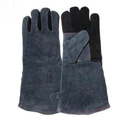 High Temperature Welding Wear-resisting Labor Leather Gloves Safety Comfort ON