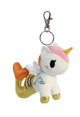 NEW Aurora Tokidoki Mermicorno Clip-On PERLA (15670) Collectible Plush Free Ship