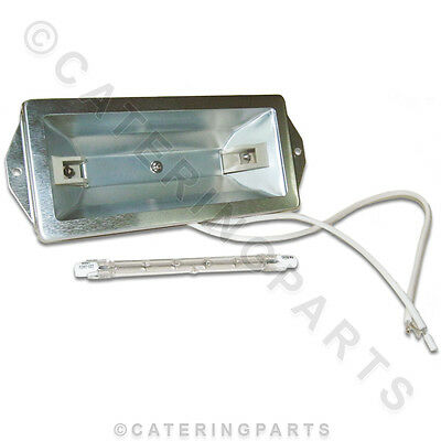 LA37 HEATED GANTRY FOOD SAFE LIGHT KIT WITH GLASS COVER AND 300w BULB 220v LAMP