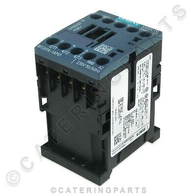 Siemens Sirius 3Rt1016-1Ap01 Contactor Power Relay 20A 230V Coil 20 Amp Push Fit