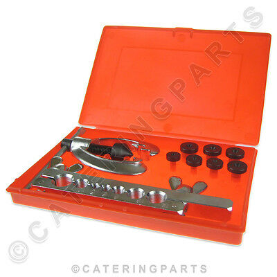 Boxed Flaring & Swaging Kit Pipe Tube Expander For Plumbers Pipework & Engineers