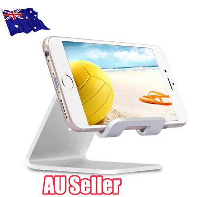 Universal Folding Aluminum Tablet Mount Holder Stand For iPad iPhone Samsung ON