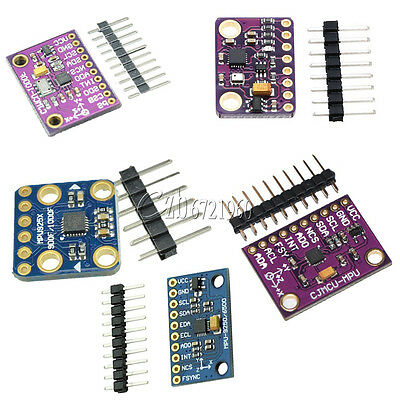 MPU9250 BMP180 BMP280 MS5611 10 DOF 9Axis SPI/I2C Accelerator Magnetometer Gyro