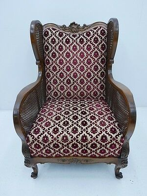 Chippendale Fauteuil-Sessel-Stuhl-Chippendale-Armlehnensessel