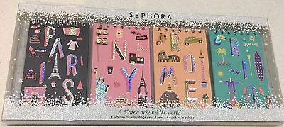 Sephora Collection Around The World 4 X Eye & Face Palettes