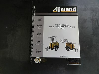Allmand night lite pro ii operators and parts manual 2895 allmand night lite pro ii operators and parts manual ccuart Choice Image