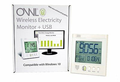 Owl +USB CM160 Wireless Electricity Electric Energy Monitor Smart Meter