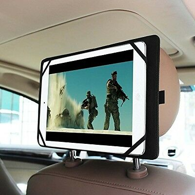 Fintie Universal Car Headrest Mount Holder For 7-Inch To 11-Inch Tablet PC IPad
