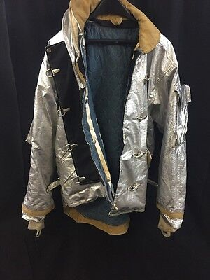 MORNING PRIDE Firefighter Proximity Jacket Turnout BPR7602TS 48/29-35/35 Poor