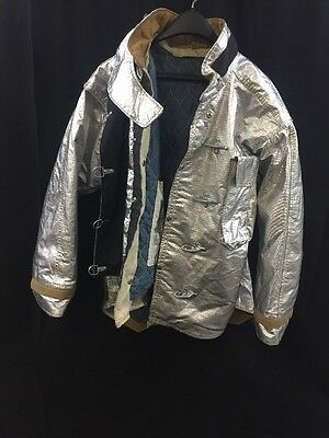 MORNING PRIDE Firefighter Proximity Jacket Turnout LT07602TS 46/29-35/32 Exc.