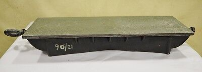 "PRECISION 10"" x 30"" x 5"" Cast Iron Surface Plate HAND SCRAPED Fixture"