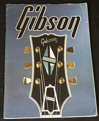 Gibson Japanese Catalogue (approx 1980)